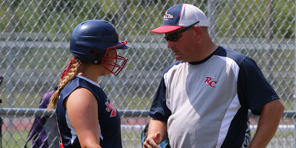 coach and softball player
